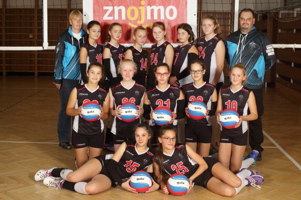 Žákyně C – v Jihom.poháru skončily na 2. místě v 1.skupině